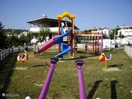 De nieuwe Speeltuin voor de kids.