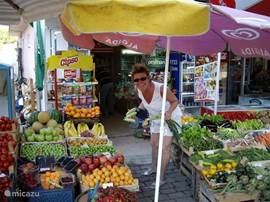 De markt in Davutlar