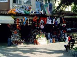 Winkelstraat in Kusadasi