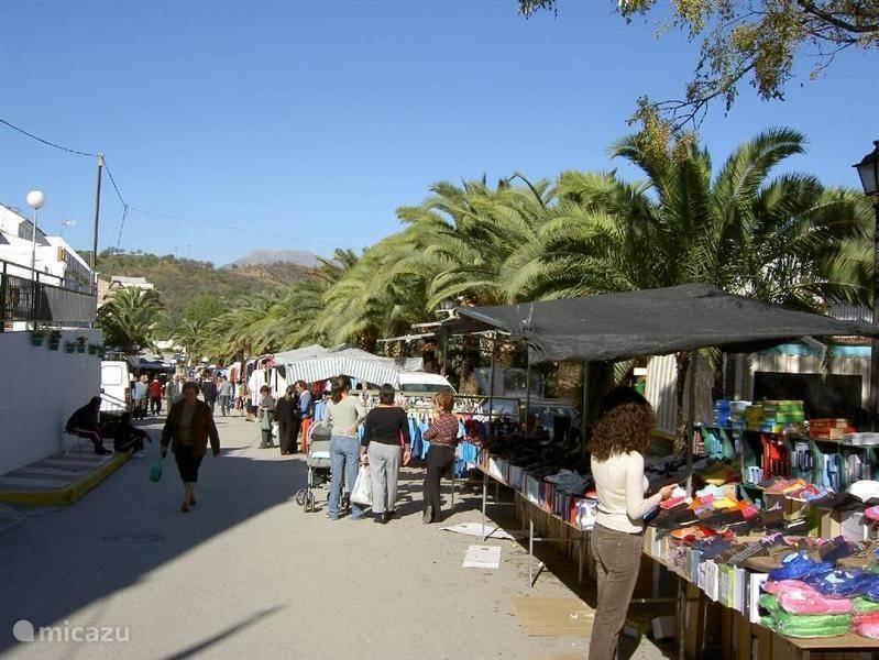 Het dorp Guaro