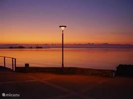 De baai van Sant Carles in de ochtend.