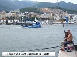 Vissers-haven van Sant Carles.