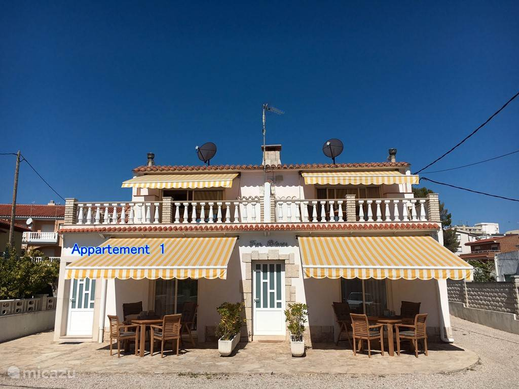 Vakantiehuis Spanje, Costa Dorada, Sant Carles de la Ràpita appartement Casas Sitori Appartement 1