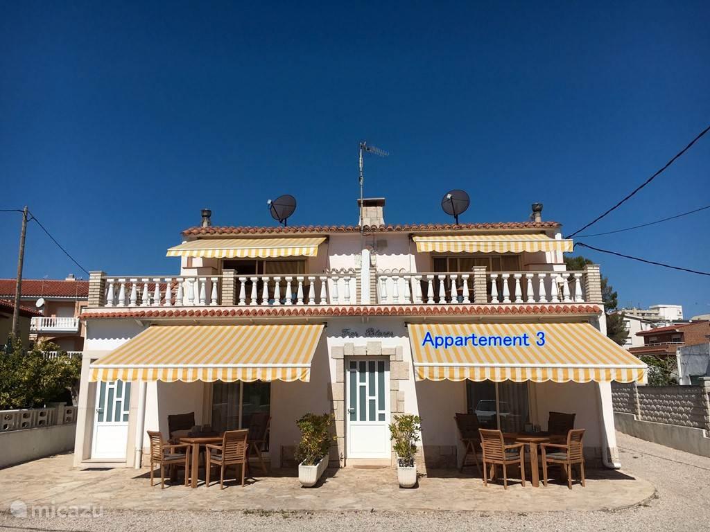 Vakantiehuis Spanje, Costa Dorada, Sant Carles de la Ràpita - appartement Casas Sitori Appartement 3