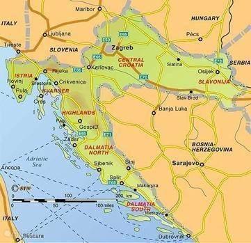 De geschiedenis van Kroatie