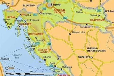 The history of Croatia