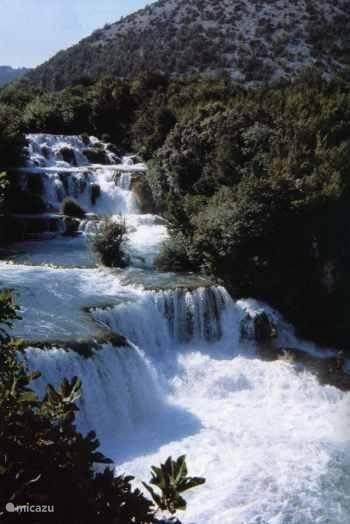 De Krka watervallen