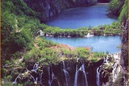 The Plitvice waterfalls