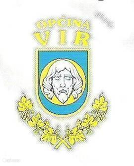 The arms of the island Vir indicates a historical past.