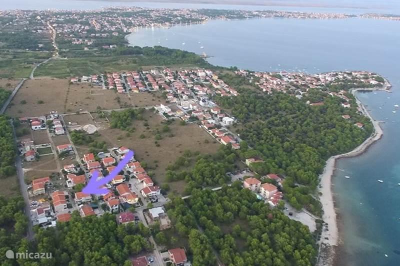 Vacation rental Croatia, Dalmatia, Vir Apartment Appartement Barbara