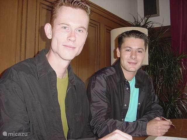 Jeroen en Martijn van Tienhoven