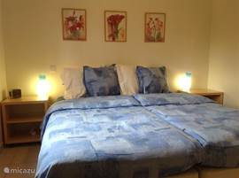Three spacious and bright bedrooms, with good light obscuration. Sleep well in all bedrooms beds, which. The bedrooms are luxurious and located an the dark side.