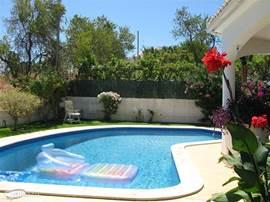 Relaxen,zwemmen met veel privacy