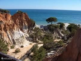 Strand en rotsen: Typisch Algarve Hier bent u vanuit Casa Adriana in 5 minuten