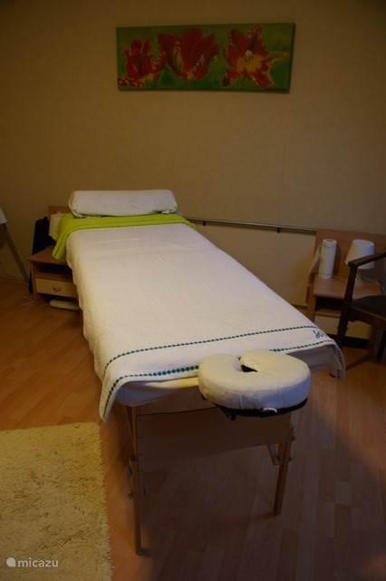 Ook bij ons te reserveren een heerlijke ontspanningsmassage, verschillende technieken o.a. Lomi Lomi