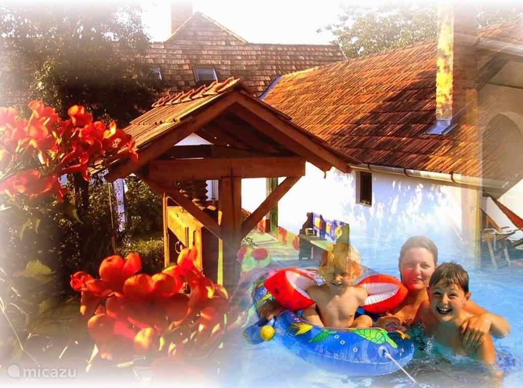 Vacation rental Hungary, Baranya, Boldogasszonyfa holiday house Almahof