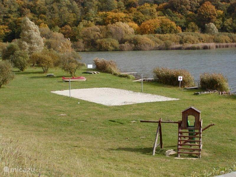 Swimming or fishing in Szálka