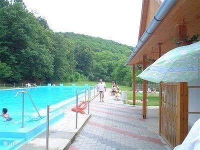 Swimming in Szászvár