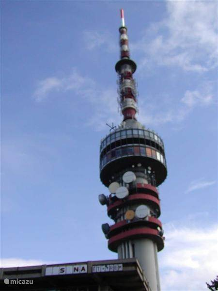 Tv zendmast in Pécs