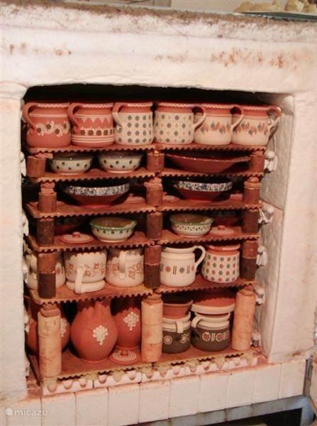 Keramiek Kárász pottenbakker/ museum