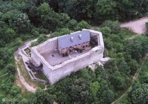 Máré burcht in Magyaregregy