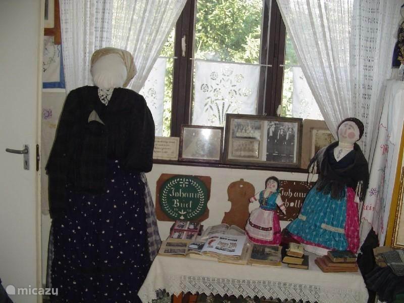 Volkskunstmuseum in ons dorp.