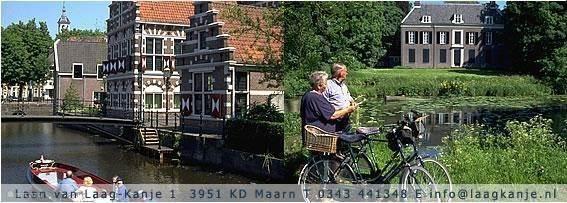 Wandel- en fietstochten in de omgeving