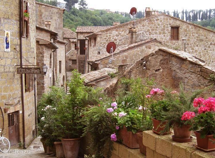 Vakantiehuis Italië, Toscane, Sorano - appartement Terrazza in Toscane