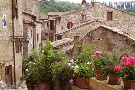 Vacation rental Italy, Tuscany, Sorano apartment Terrazza in Toscane