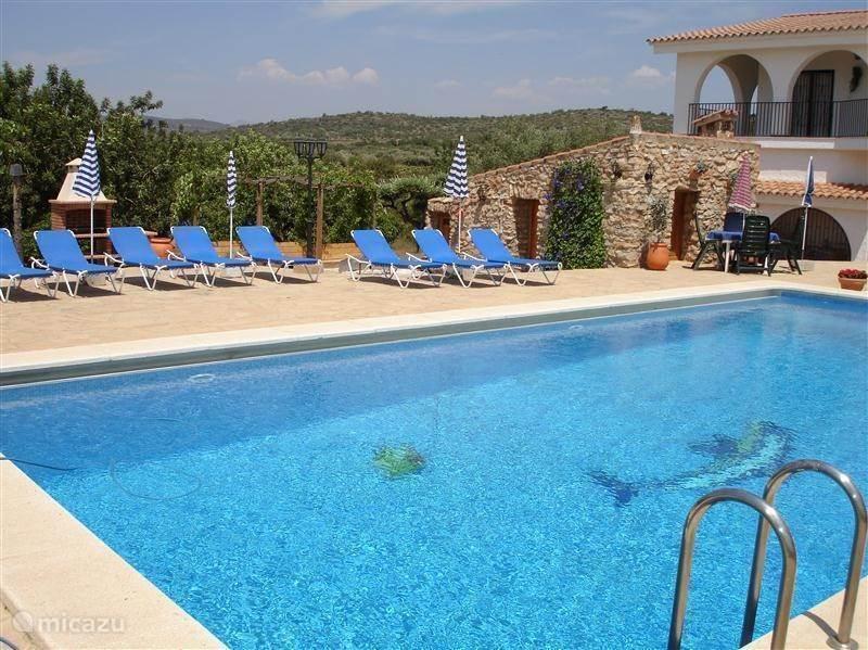 Landhuis met prive zwembad