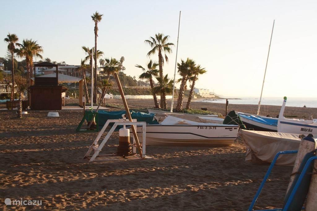 -Nog een foto van het strand van Cala de Mijas.