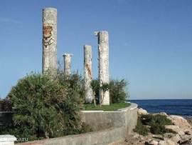 Een van de vele standbeelden Torrevieja