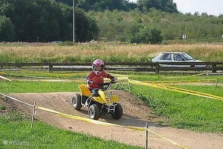 Quad & moterrijden voor kinderen op 5 km afstand