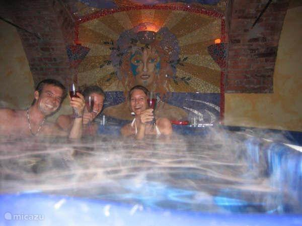 De jacuzzi & zwembad