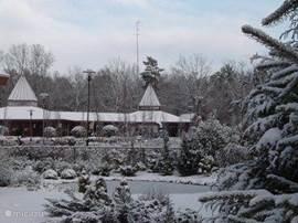 Landgoed Ruighenrode in de sneeuw