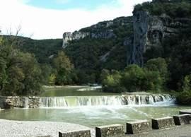 Onderweg naar Vallon Pont d'Arc: La Vallée de l'Ibie.
