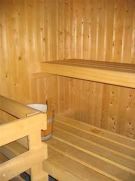 Een blik in de sauna