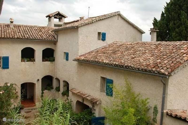Vakantiehuis Frankrijk, Gard, Molières-sur-Cèze Vakantiehuis Mas Blanc, Het Zonnehuis 6 pers.