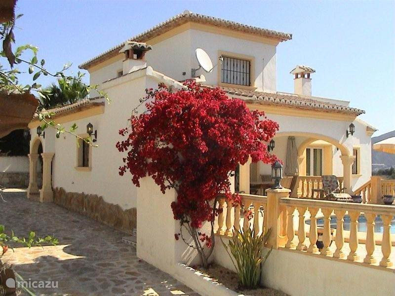 Vakantiehuis Spanje, Costa Blanca, Moraira Villa Costa Verde