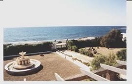 Zeezicht vanuit de Strandkamer.