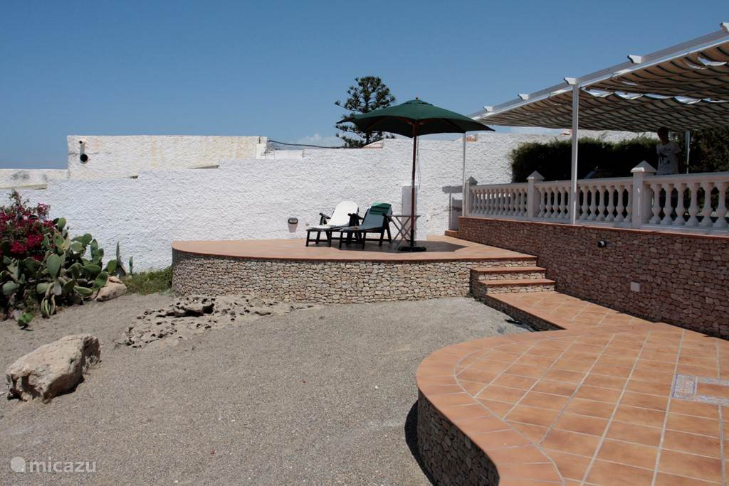 Een van de  5 terrassen