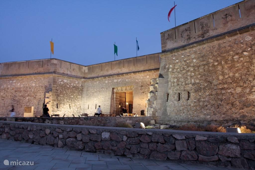 Ingang Castillo van Guardias Viejas .