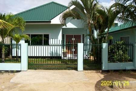 Vacation rental Suriname – holiday house House Hilda