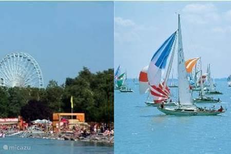 Balaton meer en zijn recreatie