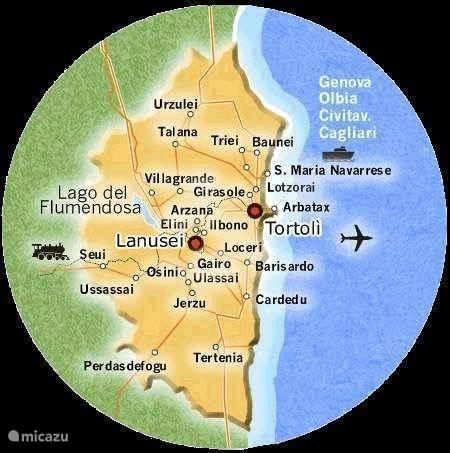 Trenino Verde - Sardinië