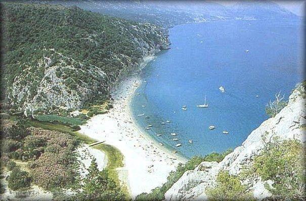 Stranden op Sardinië