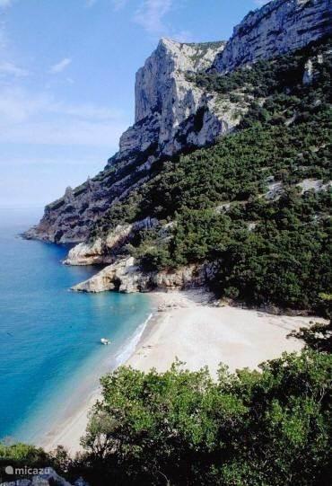 Stranden in Ogliastra.