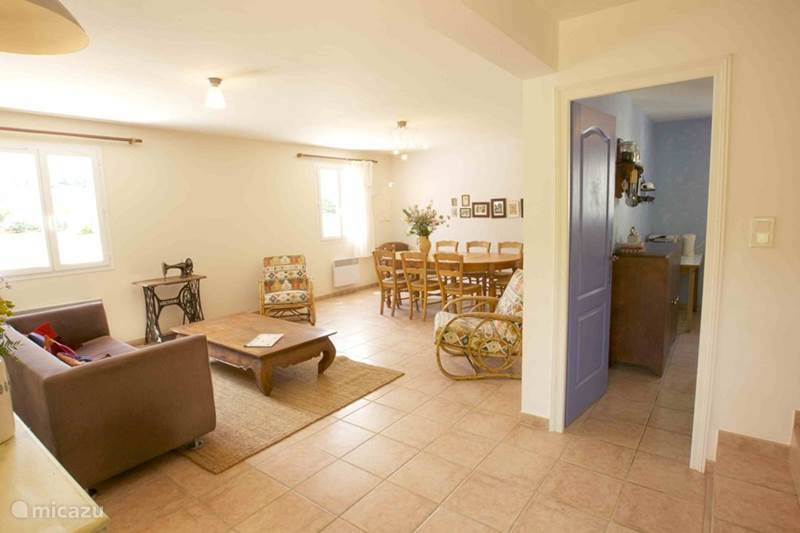 Vakantiehuis Frankrijk, Gard, Molières-sur-Cèze Vakantiehuis Luxe huis tot 8 personen