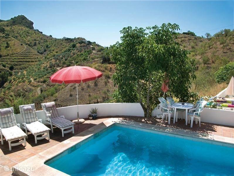 Vakantiehuis Spanje, Costa del Sol, Comares Vakantiehuis Casa Feliz