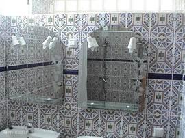 De dubbele Moorse Badkamer